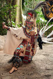 Mayan Celebration Dancer Royalty Free Stock Photo