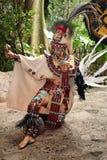 Mayan Celebration Dancer Royalty Free Stock Photo