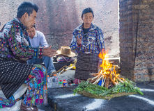 Mayan Ceremony Royalty Free Stock Photography