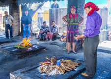 Mayan Ceremony Royalty Free Stock Photos