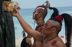 Mayan Ceremony Royalty Free Stock Images
