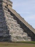 Mayan Chitzen Itza Pyramid Stock Photo