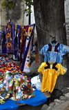 Mayan Clothes. Mayan blouses for sale in a market in chiapas, mexico Stock Photography