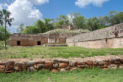 Mayan Complex in Labna Yucatan Mexico Royalty Free Stock Image