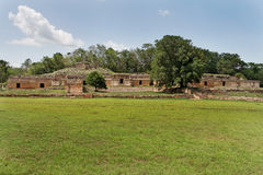 Mayan Complex in Labna Yucatan Mexico Stock Photos