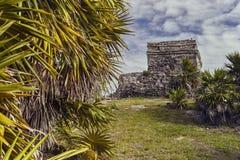 Mayan complex van Tulum #2 royalty-vrije stock afbeeldingen
