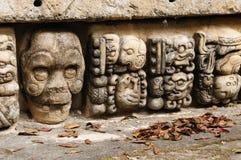 Mayan Copan fördärvar i Honduras Arkivfoton