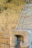 Mayan Copan fördärvar i Honduras Arkivbild