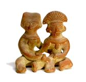 Mayan Couple Royalty Free Stock Photos