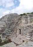 Mayan culture pyramid history mexico yucatan Xtampu Royalty Free Stock Image