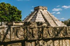 Mayan details stock foto's