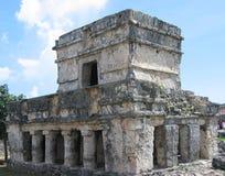 mayan fördärvar arkivbild