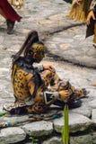 Mayan folk i Mexico Arkivbild