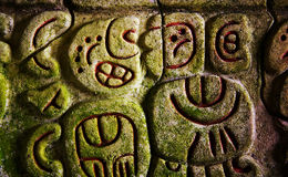 Mayan fördärvar Arkivbilder