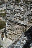 Mayan frieze Royalty Free Stock Photo