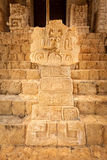 Mayan glyphs at the Acropolis Stock Image