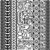 Mayan Glyphs Stock Photo