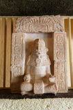 Mayan God Figure Uxmal Yucatan Mexico Royalty Free Stock Photo