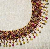 Mayan halsband royaltyfri foto