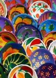 Mayan Handmade Bowls Royalty Free Stock Photography