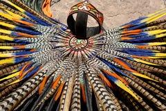 Mayan headdress closeup Royalty Free Stock Photos