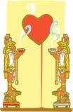 Mayan Heart Stock Photo