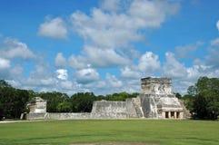 Mayan Hof van de Bal van Afstand Royalty-vrije Stock Foto