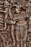 Mayan Indische Strijder Stock Foto's