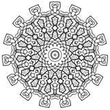 Mayan Inspired Mandala Stock Photo
