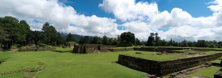 Mayan iximche Arkivbilder