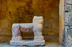 Mayan Jaguar Thorne Stock Fotografie