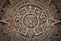 mayan kalender royaltyfri bild