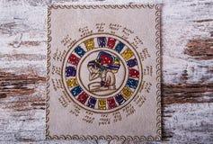 Mayan kalender royaltyfria bilder