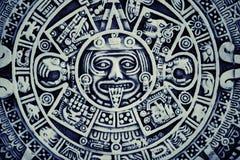 Mayan kalenderbakgrund royaltyfri fotografi