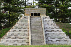 Mayan Kukulcan pyramid - replica Royalty Free Stock Photos