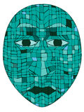Mayan Mask Royalty Free Stock Image