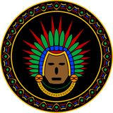 Mayan mask Royalty Free Stock Photos