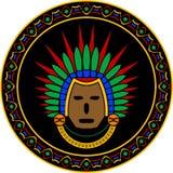 Mayan mask Royalty Free Stock Photos