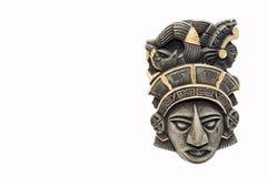 Mayan masker 1 Stock Foto's