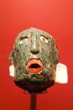 Mayan maskering av Palenque på Chiapas Arkivbilder