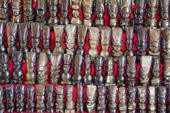 Mayan masks Royalty Free Stock Images