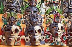 Mayan masks Stock Photography
