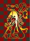 Mayan meisje Royalty-vrije Stock Afbeeldingen