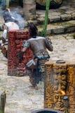 Mayan mensen in Mexico Stock Foto