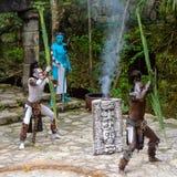 Mayan mensen in Mexico Royalty-vrije Stock Fotografie