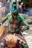 Mayan mensen in Mexico Stock Afbeelding