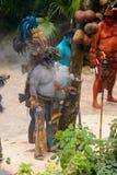 Mayan mensen in Mexico Royalty-vrije Stock Afbeeldingen