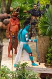 Mayan mensen in Mexico Royalty-vrije Stock Afbeelding