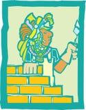 Mayan Metselaar vector illustratie