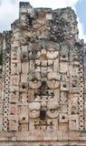 mayan mexico för chacgud regn uxmal yucatan Arkivbild